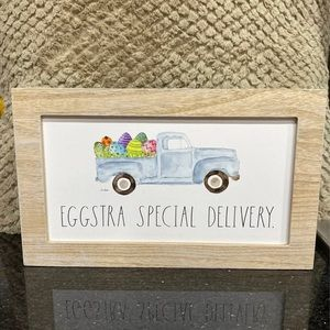 Rae Dunn Easter Sign EGGSTRA SPECIAL DELIVERY